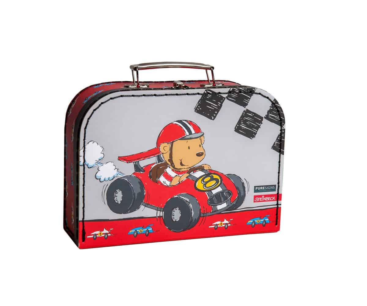 Kinderbesteck kleiner Rennfahrer
